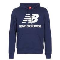 Clothing Men sweaters New Balance NB SWEATSHIRT Marine