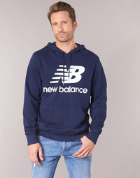 Clothing Men sweaters New Balance NB SWEATSHIRT Marine