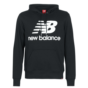 Clothing Men sweaters New Balance NB SWEATSHIRT Black