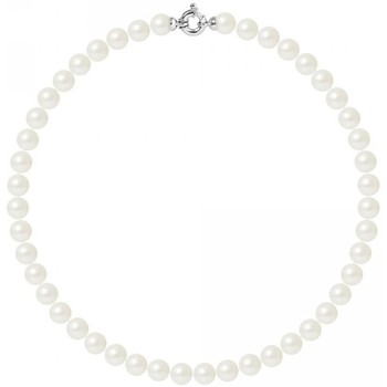 Watches & Jewellery  Women Necklaces Blue Pearls BPS K030 W OB White