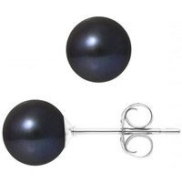 Watches & Jewellery  Women Earrings Blue Pearls BPS K390 W OB Multicolored