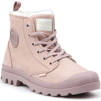 Shoes Women Walking shoes Palladium Pampa HI Z WL W 95982-671-M pink