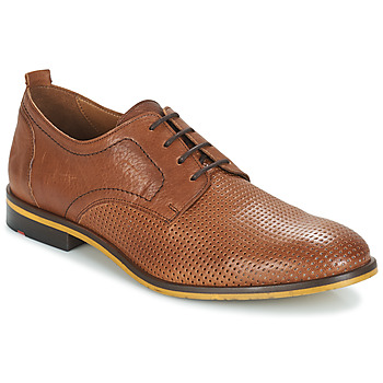 Shoes Men Derby Shoes Lloyd SERGEI Cognac