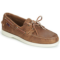 Shoes Men Boat shoes Sebago DOCKSIDES PORTLAND CRAZY H Brown