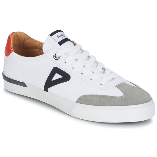 Shoes Men Low top trainers Pepe jeans NORTH ARCHIVE White