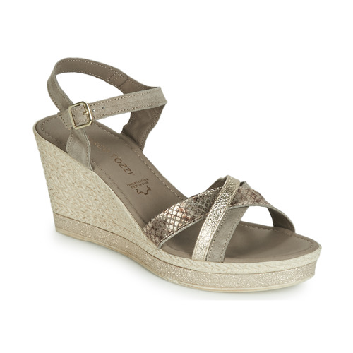 Shoes Women Sandals Marco Tozzi TOURILE Taupe