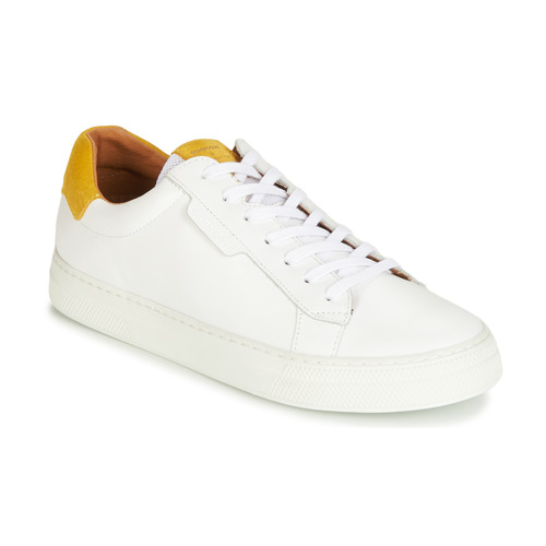 Shoes Men Low top trainers Schmoove SPARK-CLAY White / Safran