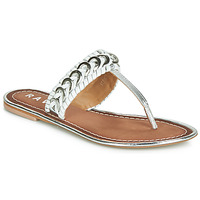 Shoes Women Flip flops Ravel DESOTO Silver