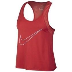 Clothing Women short-sleeved t-shirts Nike Running Tank