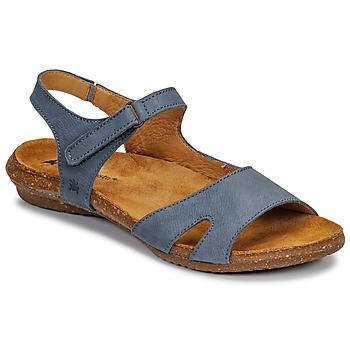 Shoes Women Sandals El Naturalista WAKATAUA Blue