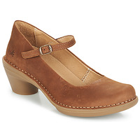 Shoes Women Heels El Naturalista AQUA Brown