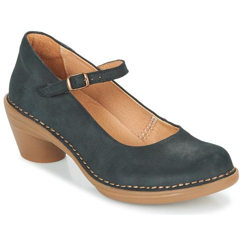 Shoes Women Heels El Naturalista AQUA Black