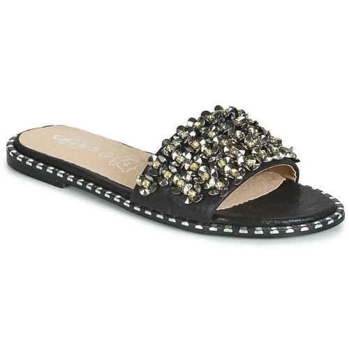 Shoes Women Mules Cassis Côte d'Azur ALVINA Black