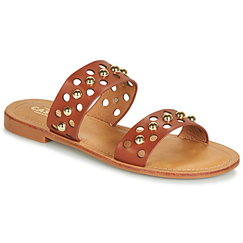 Shoes Women Mules Cassis Côte d'Azur IBIBI Brown