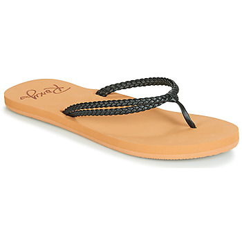 Shoes Women Flip flops Roxy COSTAS J SNDL BLK Black