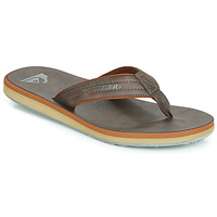 Shoes Men Flip flops Quiksilver CARVER NUBUCK M SNDL CTK1 Brown
