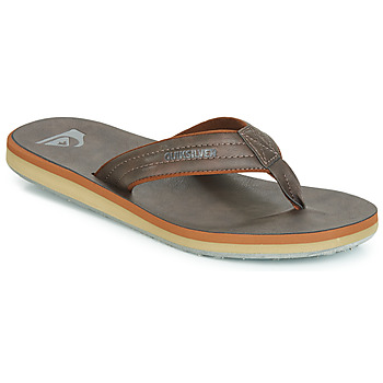 Shoes Men Flip flops Quiksilver CARVER NUBUCK M SNDL CTK1 Brown