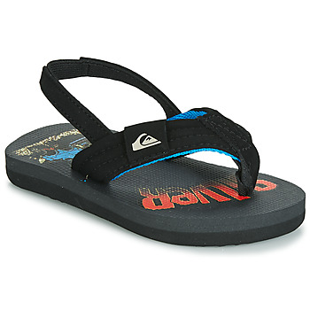 Shoes Children Sandals Quiksilver MOLOKAI LAYBACK TDL T SNDL XKSR Black