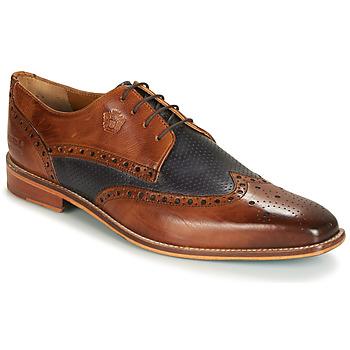 Shoes Men Derby Shoes Melvin & Hamilton MARTIN 16 Brown / Blue