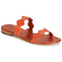 Shoes Women Sandals Melvin & Hamilton HANNA 45 Orange