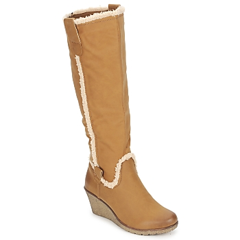 Shoes Women High boots StylistClick SANAA CAMEL