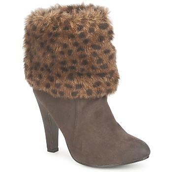 Shoes Women Ankle boots StylistClick JOYCE Brown