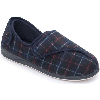 Shoes Men Slippers Padders Phillip 500 Mens Plaid Slippers blue
