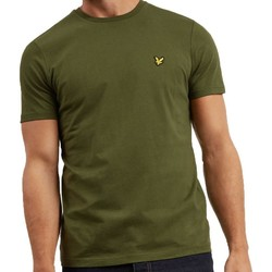 Clothing Men short-sleeved t-shirts Lyle & Scott Lyle And Scott Crew Neck T-Shirt Green