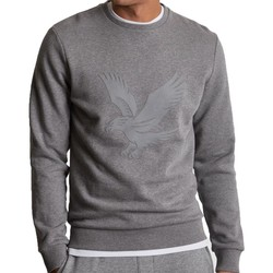 Clothing Men sweaters Lyle & Scott Lyle And Scott Casuals Logo Sweatshirt Grey