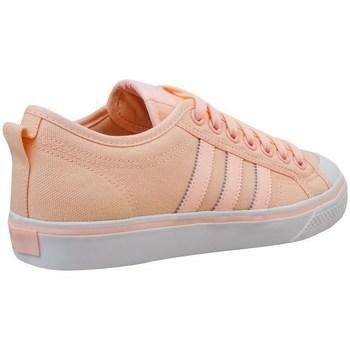Shoes Women Low top trainers adidas Originals Nizza W Orange