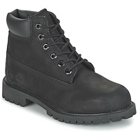 Shoes Boy Mid boots Timberland 6 IN CLASSIC Noir