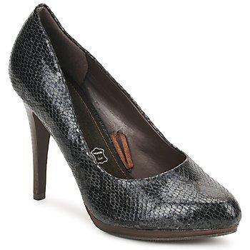 Shoes Women Heels StylistClick PALOMA Black / Python