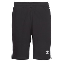 Clothing Men Shorts / Bermudas adidas Originals 3 STRIPE SHORT Black