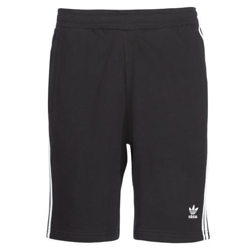 Clothing Men Shorts / Bermudas adidas Originals 3 STRIPE SHORT Black
