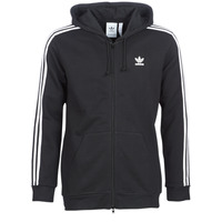 Clothing Men Sweaters adidas Originals 3 STRIPES FZ Black