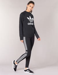 Clothing Women leggings adidas Originals TREFOIL TIGHT Black
