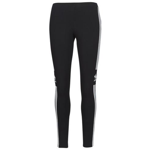Clothing Women leggings adidas Originals TREFOIL TIGHT Black