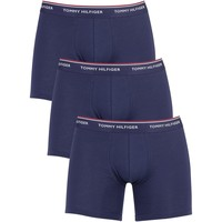 Underwear Men Boxer shorts Tommy Hilfiger 3 Pack Premium Essentials Boxer Briefs blue