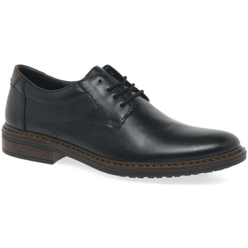Shoes Men Derby Shoes Rieker Ealing Mens Formal Derby Lace Up Shoes black