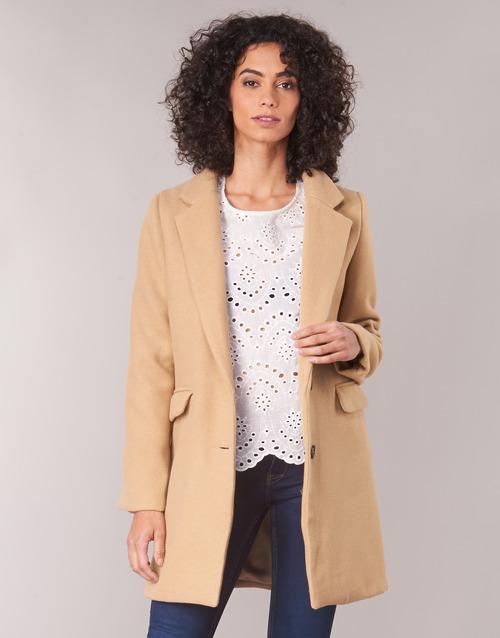 Clothing Women coats Betty London JRUDON Beige