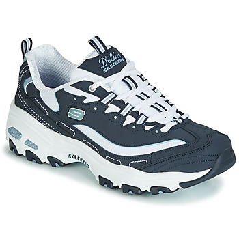 Shoes Women Low top trainers Skechers D'LITES BIGGEST FAN Navy