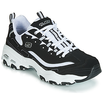 Shoes Low top trainers Skechers D'LITES  black