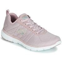Shoes Women Low top trainers Skechers FLEX APPEAL 3.0 INSIDERS Pink