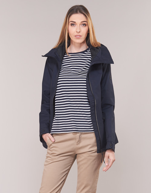 Clothing Women Parkas Aigle RETROSTARRE NEW Marine