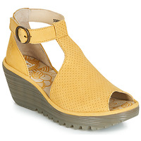 Shoes Women Sandals Fly London YALL Yellow