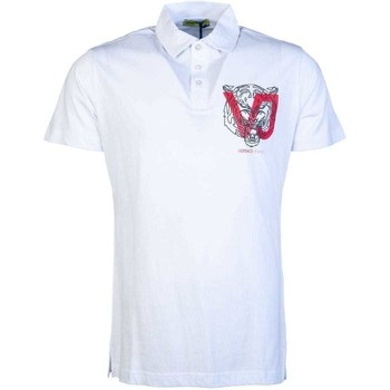 Clothing Men Short-sleeved polo shirts Versace B3GSA7P936610_003white white