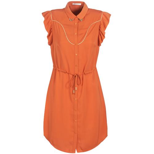 Clothing Women Short Dresses Les Petites Bombes AZITARTE Coral