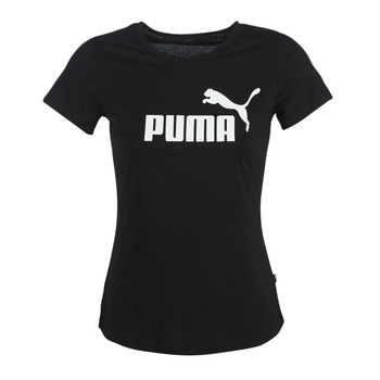 Clothing Women Short-sleeved t-shirts Puma PERMA ESS TEE Black