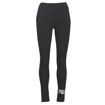 Clothing Women leggings Puma ESS LOGO LEGGING Black