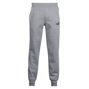 Clothing Men Tracksuit bottoms Puma SWEAT PANT Grey